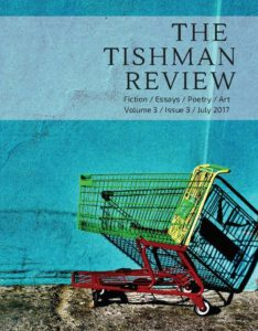 front cover to tishman review lit journal